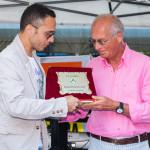 Patania Pietro premia D'Ambrosio segretario FIGC