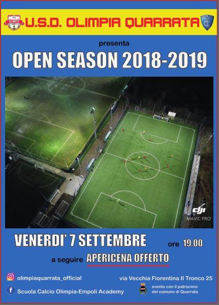 Open season 2018-2019